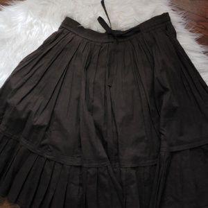 Old Navy Boho Brown Midi Skirt